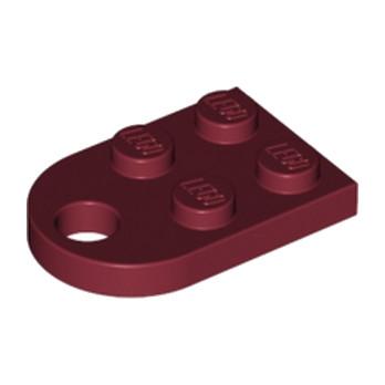 4568753 - COUPLING PLATE 2X2  - Bordeaux