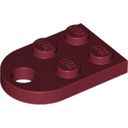 LEGO 4568753 COUPLING PLATE 2X2  - NEW DARK RED