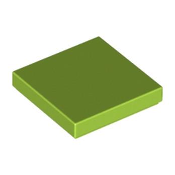 4518611 - Plate Lisse 2X2 - Vert Clair