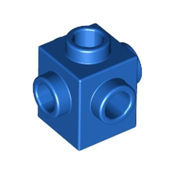 LEGO 4296151 - BRIQUE 1X1 W. 4 KNOBS - BLEU