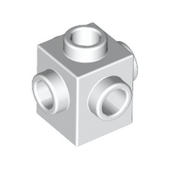 LEGO 473301 BRIQUE 1X1 W. 4 KNOBS - BLANC