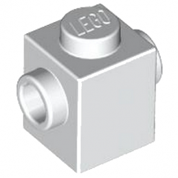 LEGO 4626882 BRIQUE 1X1 W. 2 KNOBS - BLANC