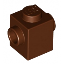 LEGO 4645102 BRIQUE 1X1 W. 2 KNOBS - REDDISH BROWN