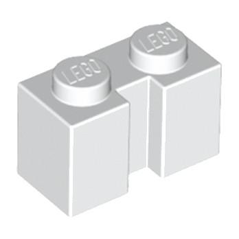 LEGO 4264360  BRIQUE 1X2 W - BLANC