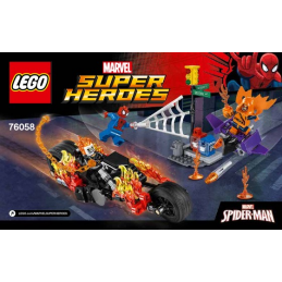 Notice / Instruction Lego Marvel Super Heroes 76058