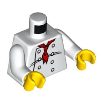 LEGO 4275540 TORSE CUISINIER - BLANC