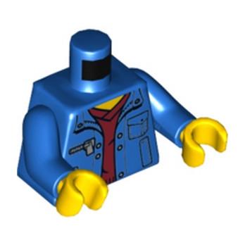 LEGO 6055507 TORSE VESTE BLEU