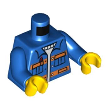 LEGO 4548877 TORSE OUVRIER DE CHANTIER