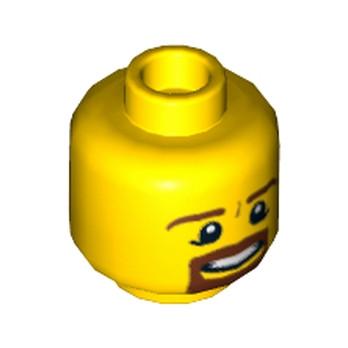 LEGO 6021675 - Accessoires pour Figurine Lego® - Tête Homme