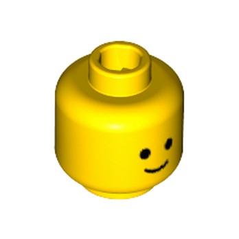LEGO 6156652 TÊTE - JAUNE