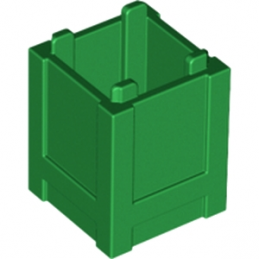 LEGO 4548102 BOX 2X2X2 - DARK GREEN