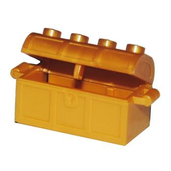 LEGO 4541393 MALLE / COFFRE 2X4 - WARM GOLD
