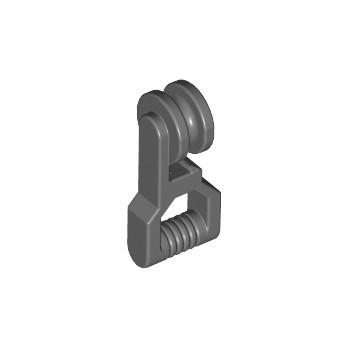 LEGO 4211081 POULIE / GLISSIERE - DARK STONE GREY