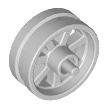 LEGO 4590443  JANTE Ø 14.58 X 8 - MEDIUM STONE GREY lego-4590443-jante-o-1458-x-8-medium-stone-grey ici :