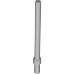 LEGO 6081975 - BARRE 6M AVEC STOP - MEDIUM STONE GREY