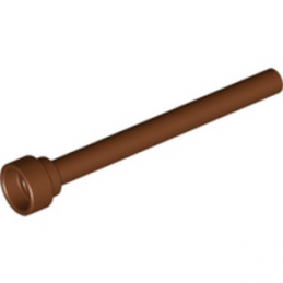 LEGO 4538252 ANTENNE 1X4 - REDDISH BROWN