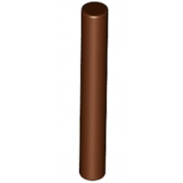 LEGO 6075208 BARRE 3M 1X3 - REDDISH BROWN
