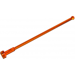 LEGO 4221194 ANTENNE 1X8 - ORANGE TRANSPARENT