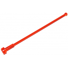 LEGO 4621915 ANTENNE 1X8 - ORANGE FLUO TRANSPARENT