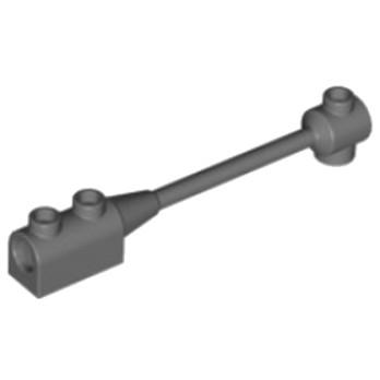 LEGO 6273322 BARRE 1X8 - DARK STONE GREY
