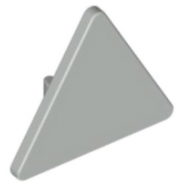 LEGO 4211886 PANNEAU TRIANGLE - MEDIUM STONE GREY
