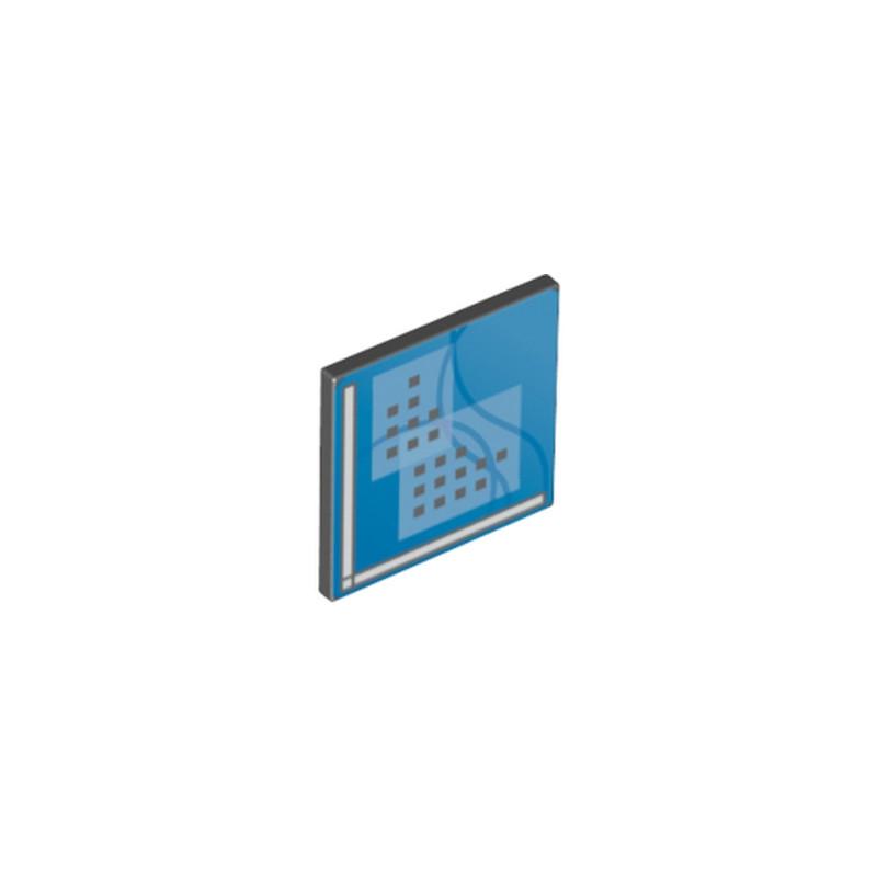 LEGO 6064043 ECRAN D'ORDINATEUR AVEC CLIPS