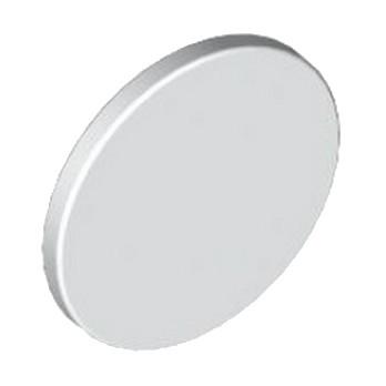 30261 - Panneau Rond avec clips - Blanc