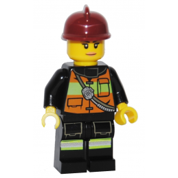 Figurine Lego® City - Femme Pompier