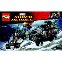 Notice / Instruction Lego  Marvel Super Heroes 76030