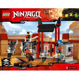 Notice / Instruction Lego  Ninjago 70591