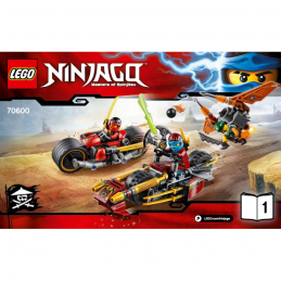 Notice / Instruction Lego  Ninjago 70600 notice-instruction-lego-ninjago-70600 ici :