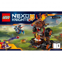 Notice / Instruction Lego  Nexo Knight 70321