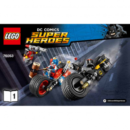 Notice / Instruction Lego Super Heroes 76053