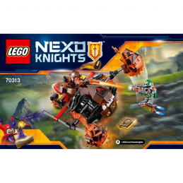 Notice / Instruction Lego  Nexo Knight 70313