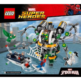 Notice / Instruction Lego Super Heroes 76059