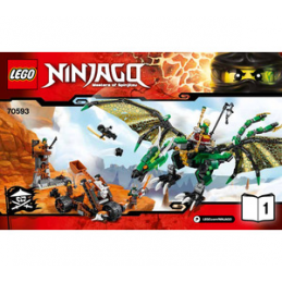 Notice / Instruction Lego  Ninjago 70593