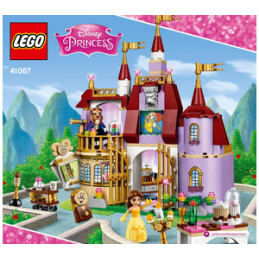 Notice / Instruction Lego Disney Princess - 41067