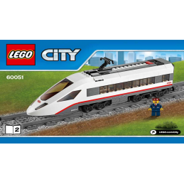 Notice / Instruction Lego City  Train 60051