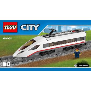 Notice / Instruction Lego City Train 60051
