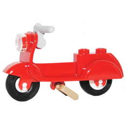 LEGO 6058748 SCOOTER - ROUGE