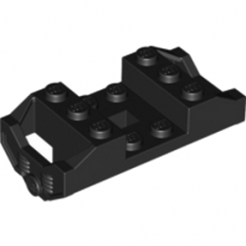 LEGO 287826 ELEMENT DE ROULEMENT 3X6  - NOIR