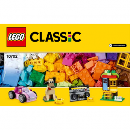 Notice / Instruction Lego Classic 10702