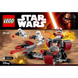 Notice / Instruction Lego Star Wars  75134