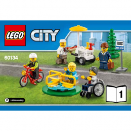 Notice / Instruction Lego city 60134