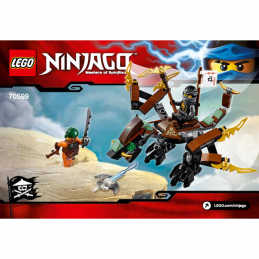 Notice / Instruction Lego Ninjago 70599
