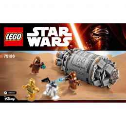 Notice / Instruction Lego Star Wars  75136
