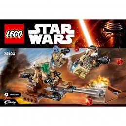 Notice / Instruction Lego Star Wars  75133