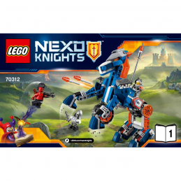 Notice / Instruction Lego Nexo Knights 70312