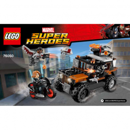Notice / Instruction Lego Ser Heroes Marvel 76050