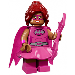 Mini Figurine Lego® The Batman Movie :  Pink Power Batgirl